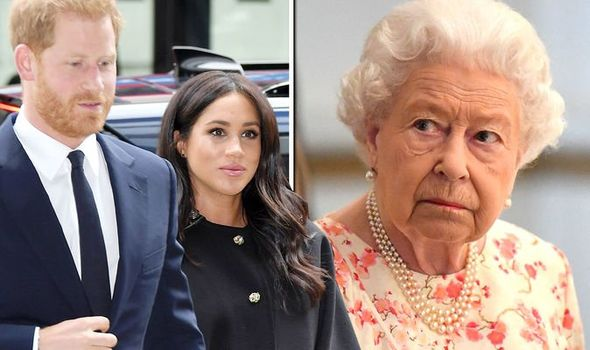 "Queen Elizabeth ""pushed"" Megan and Harry to make their Royal Exit"